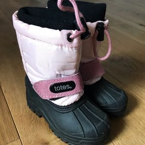Girls Totes, Winter Snow Boots - Girls Pink 6